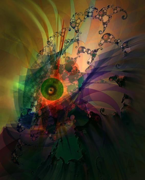 Dragon Wisdom Eye by Stephen Lucas