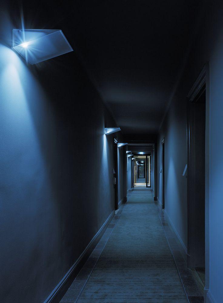Hotel Skeppsholmen corridor with Pinstripe carpet for Kasthall by Claesson Koivisto Rune. Photo Åke Esson Lindman