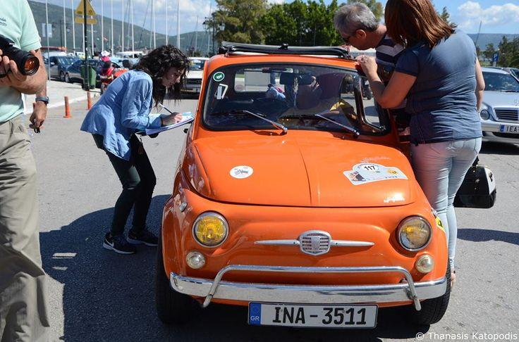 Fiat 500 (Cinquecento). 1957.