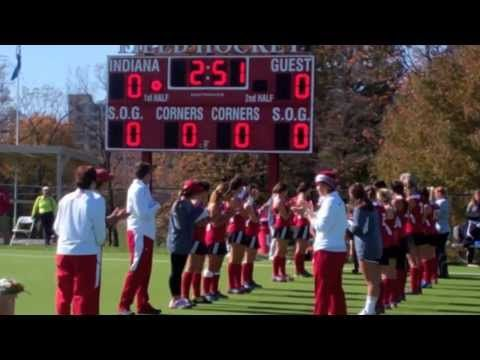 10.27.13 Indiana Field Hockey Senior Day