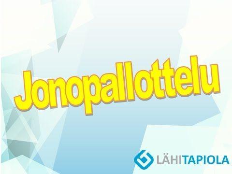 Jonopallottelu - YouTube