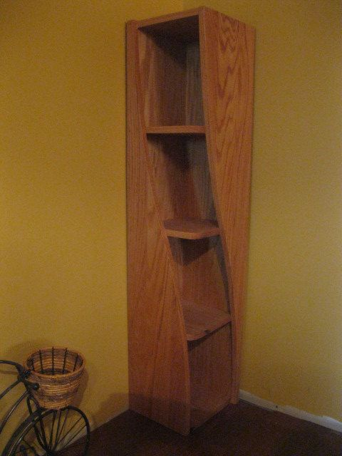 Funky Twisted Bookshelf   Quirky So Cool