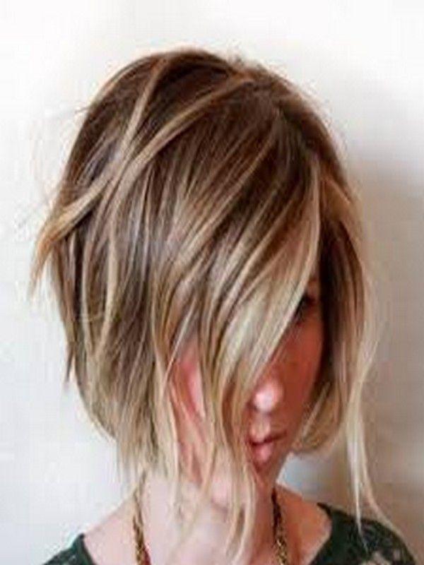 frisuren kurzer bob braun - frisur stil