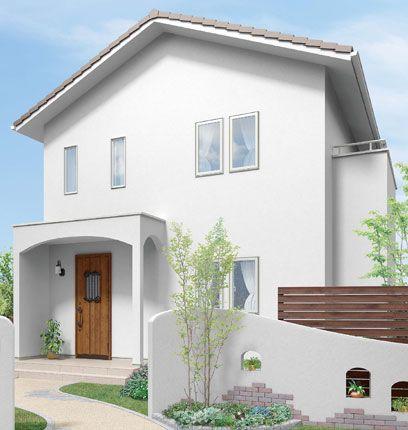 LIXIL | 玄関まわり | グランデル | 施工イメージ 42型ハンドダウンチェリー