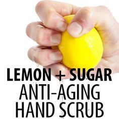 You don't have to live with sun spots on your hands. Dr Oz unveiled a Lemon Sugar Licorice Hand Scrub Recipe that works wonders, and ways to tighten skin. (For mature skin brown spots on hands.)