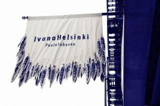 Ivana Helsinki Store Flag in NYC