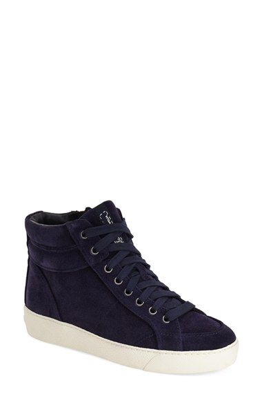 Free shipping and returns on Sam Edelman 'Britt' High Top Sneaker (Women) at Nordstrom.com. A trio of textures and glitzy finishes gives this high-top sneaker a powerful punch of style-savvy attitude.