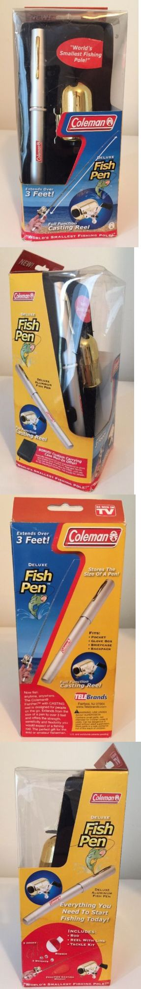 Other Rod and Reel Combos 179960: Coleman World S Smallest Fishing Pole Deluxe Aluminum Fish Pen, Brand New -> BUY IT NOW ONLY: $34.99 on eBay!