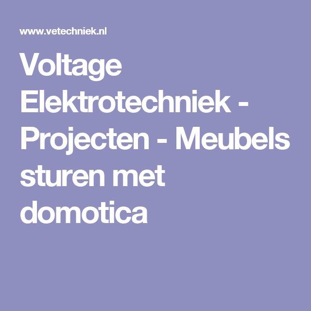 Voltage Elektrotechniek - Projecten - Meubels sturen met domotica