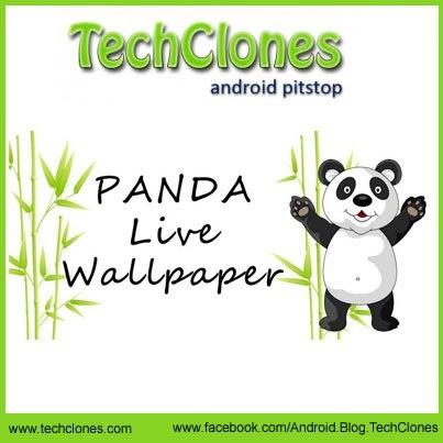 Panda Dumpling Lite 3D Live Android Wallpaper: Panda lovers can easily get their panda on their Smartphones with Panda Dumpling Lite 3D live wallpaper.