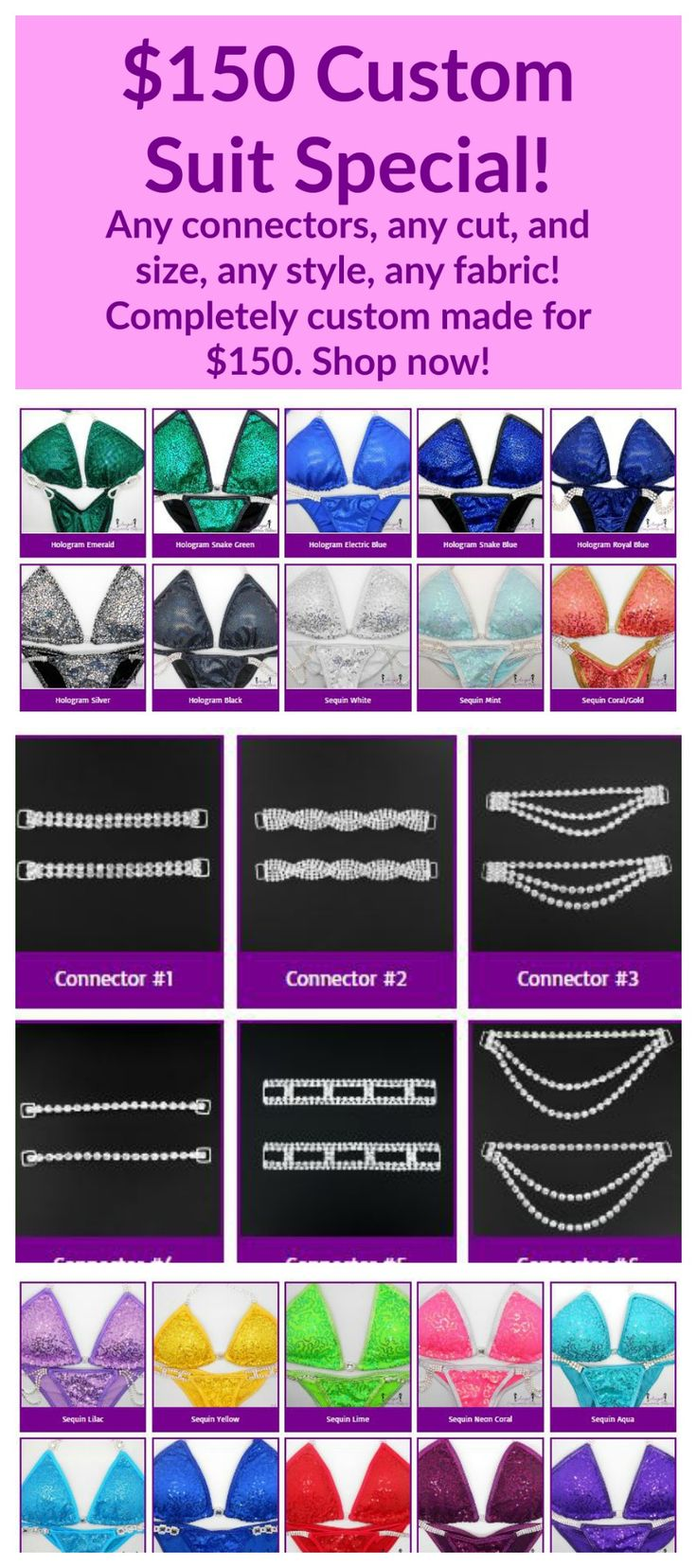 Great deal from Angel Competition Bikinis!
