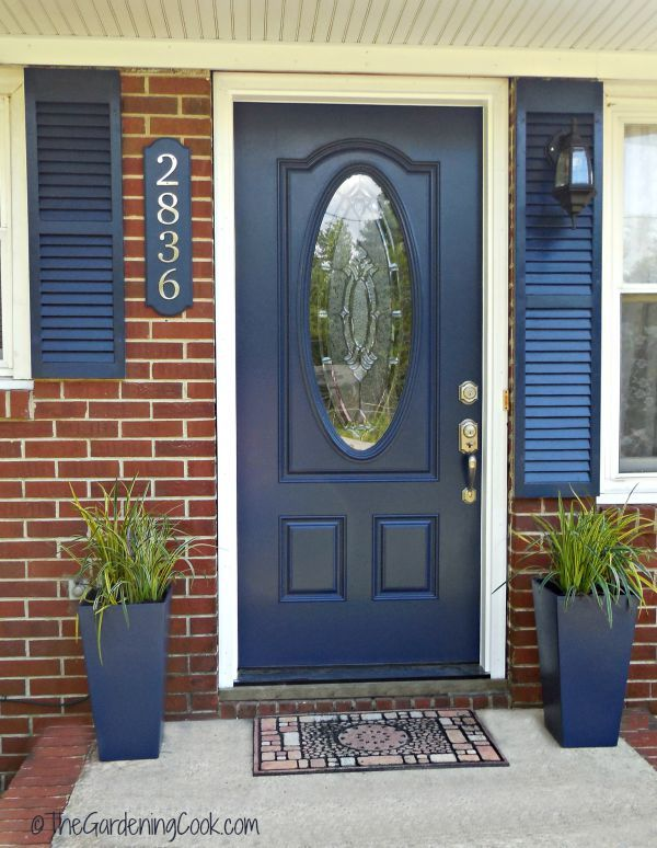 Beautiful Front Doors best 25+ front door makeover ideas on pinterest | front door porch