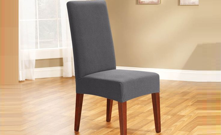 Slate Pearson Dining Chair Cover by Sure Fit