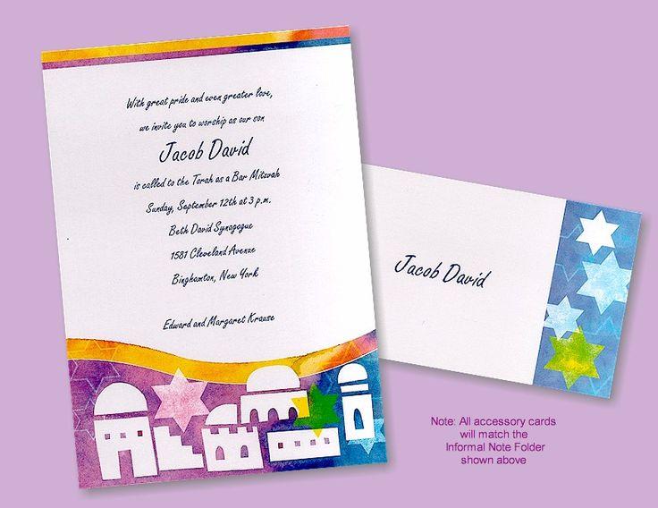 printed jewish new year cards