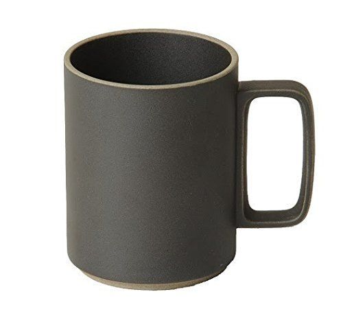 Hasami Porcelain  Black Tall Unglazed Mug: Tall unglazed mug by Hasami Porcelain. Available in black and natural colour ways, Hasami porcelain is defined by ultra clean lines, smooth texture and an organic feel.  Fusing tradition and modernity, each piece from the Hasami collection has been designed with innovative function and meticulous precision, meaning they can be stacked, for ease of storage and to enhance the beauty and harmony of the design.