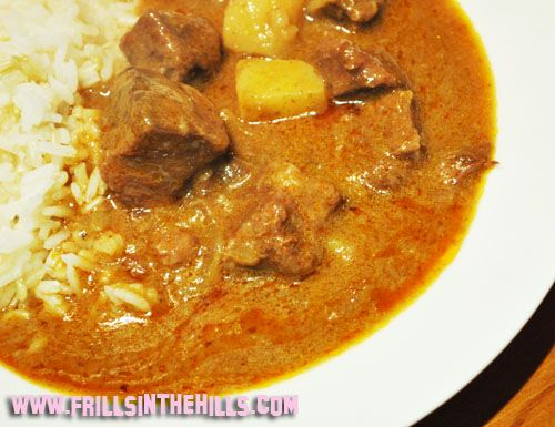 Massaman Curry.     This was delicious!