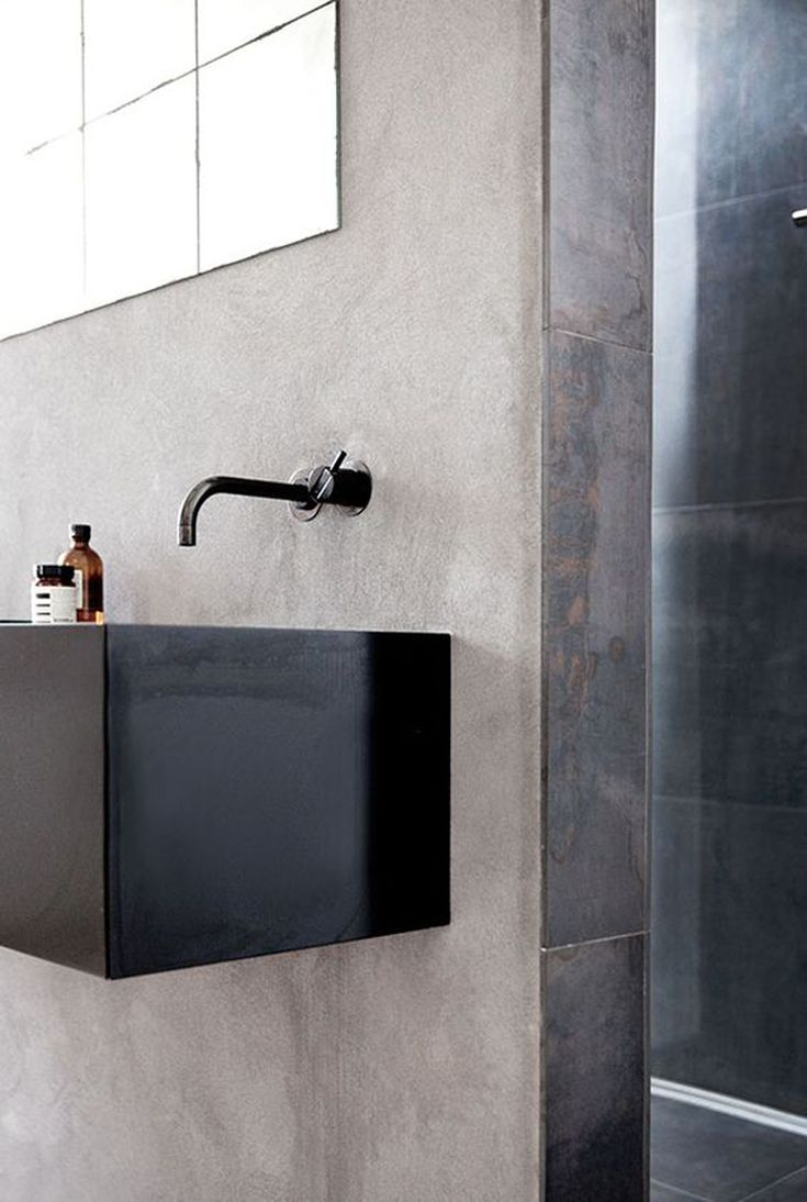 COCOON black bathroom taps inspiration | modern bathroom inspiration bycocoon.com | stainless steel | bathroom design and renovation | minimalist design products for your bathroom and kitchen | villa and hotel projects | Dutch Designer Brand COCOON