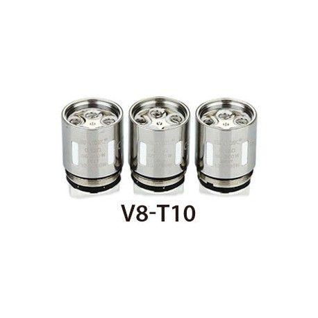 0.12 Ω V8-T10 Deca/decuple Coil - rated for 50W - 300W, recommended 130W - 190W