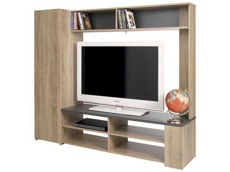 Les 25 meilleures id es de la cat gorie meuble tv for Meuble tv karev