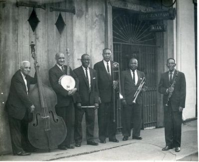 George Lewis & His Preservation Hall Band by Preservation Hall, via Flickr