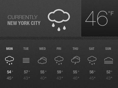 Weather Widget  by Ben Henschel