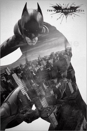 Batman The Dark Knight Rises - City Silhouette Love This!