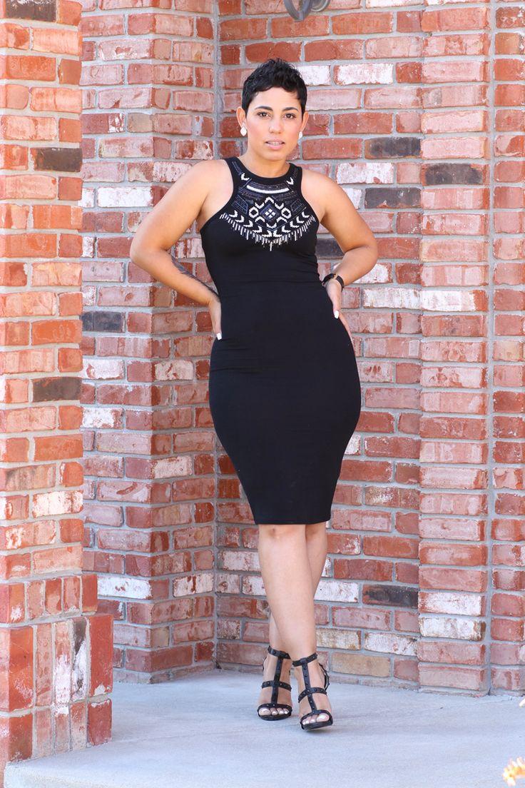 Mimi g style black dress zara