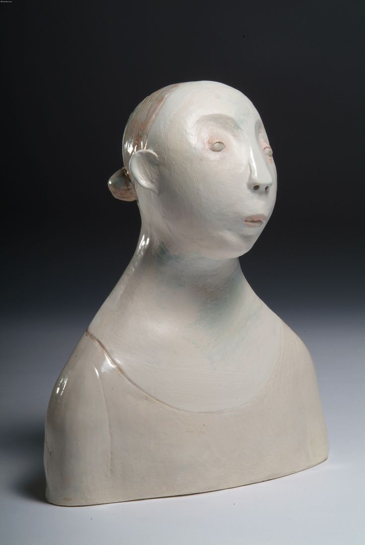 Untitled (bust) by South-African born, England-based artist Este MacLeod (b.1968). via the artist's site