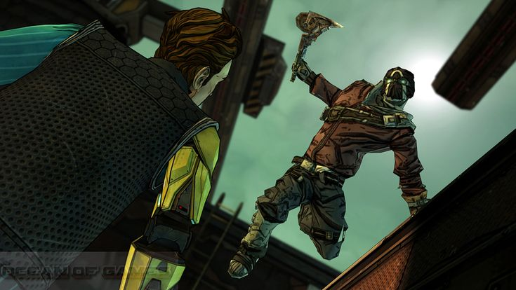 Tales From The Borderlands Game Screenshots