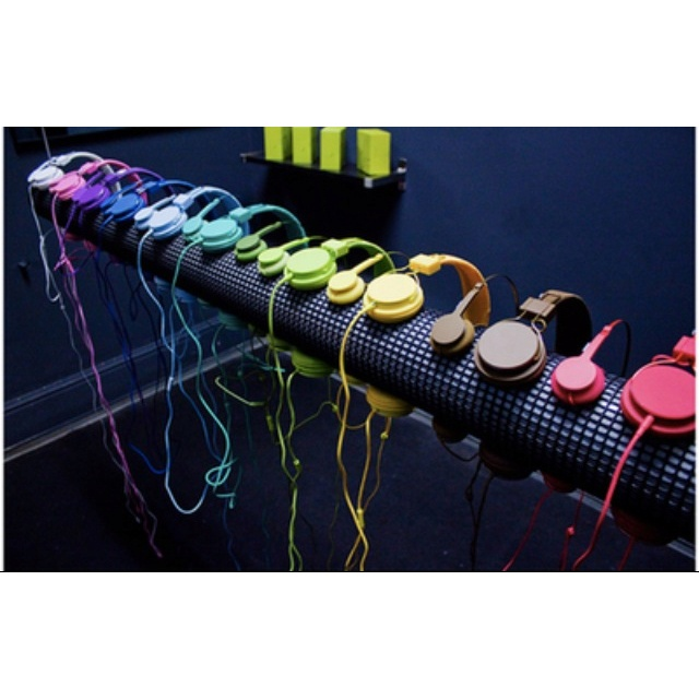 Headphones Colourful Pinterest