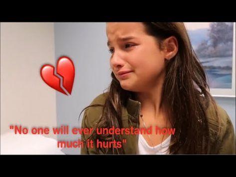 ANNIE LEBLANC AND CALEB LOGAN - SAD EDIT (Try Not To Cry) - YouTube