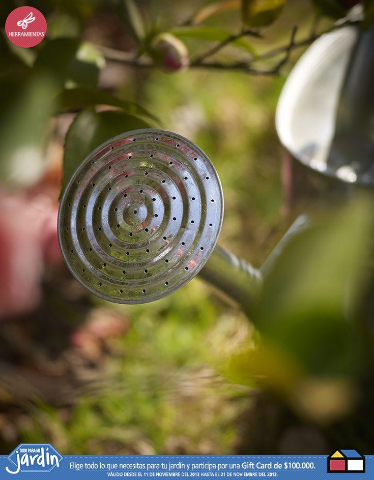 #Herramientas #Jardin esta si es util para regar y decorar mi jardin :)