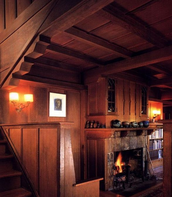 78 Images About Craftsman Style Fireplaces On Pinterest