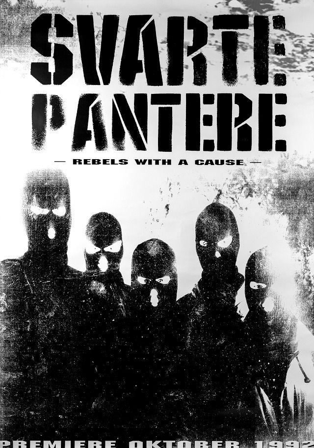 Svarte Pantere teaserposter