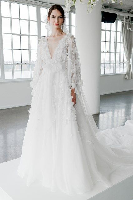 New York Bridal Week Fall 2018: Marchesa