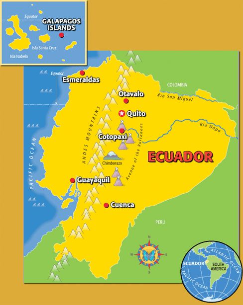 Best Rainforest Resources Images On Pinterest Times For Kids - Physical map of ecuador