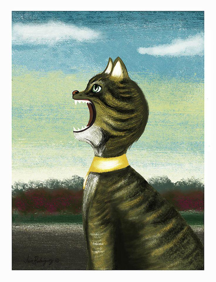 Gato -  Maullido Digital
