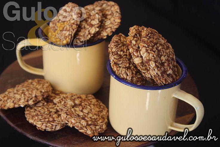 Receita de Cookies de Banana com Três Ingredientes