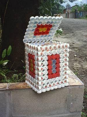 Proyectos de reciclaje con botellas de Plástico - Taringa!