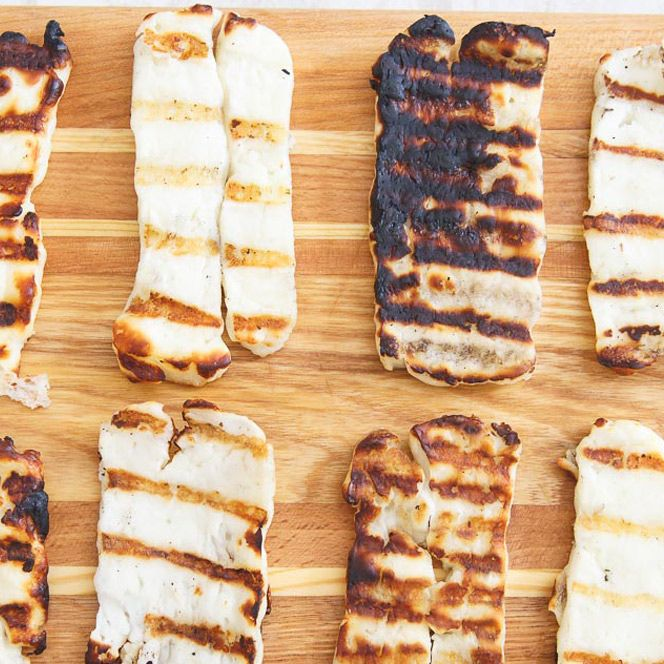 Note from Kare: Today Gina from Running to the Kitchen is showing us how to grill halloumi cheese. And let me just say: If you haven't tried grilled halloumi cheese yet, you MUST. Immediately! Between marrying a Greek, having a close circle of friends with three more Greeks in it and generally just …