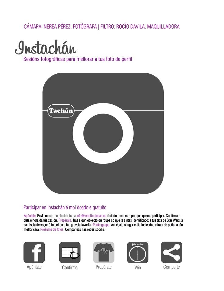 Participar en Instachán é moi doado e de balde. Muda a túa cutre-foto de perfil por unha foto que che vai quedar niquelada. A cámara pona Nerea Pérez é o filtro Rocío Davila. A cara pola ti. Pide a túa vez en info@leontinoielias.es #instachan #sesionfotosperfil #nereaperez #rociodavila