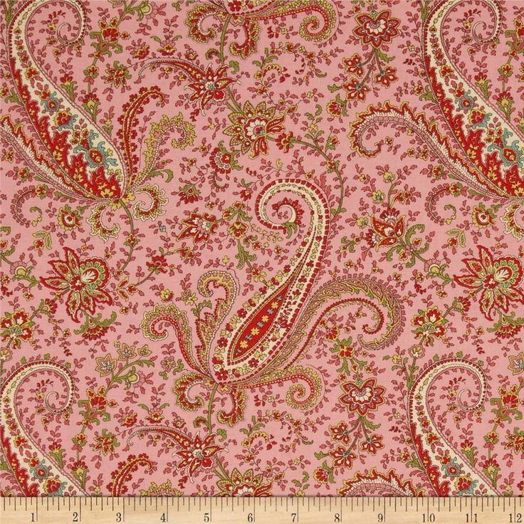 Paisley Quilting Fabric - Discount Designer Fabric