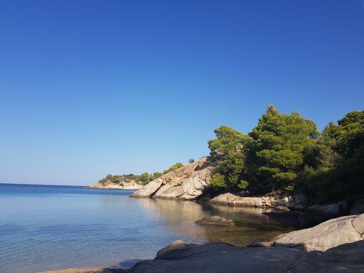 Spaties beach, Sithonia, Greece