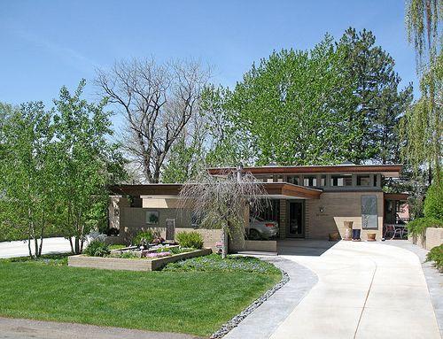 39 best 921 wright house images on pinterest for Modern houses denver