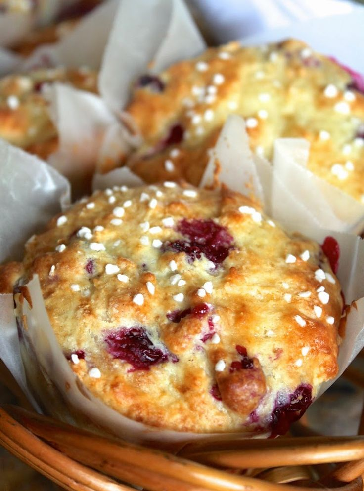 From a WAITROSE recipe: made with NO butter, but includes a whole cup of yogurt, this is the only muffin recipe I will ever use again (just substitute fruits and flavors)! Yummy and moist!