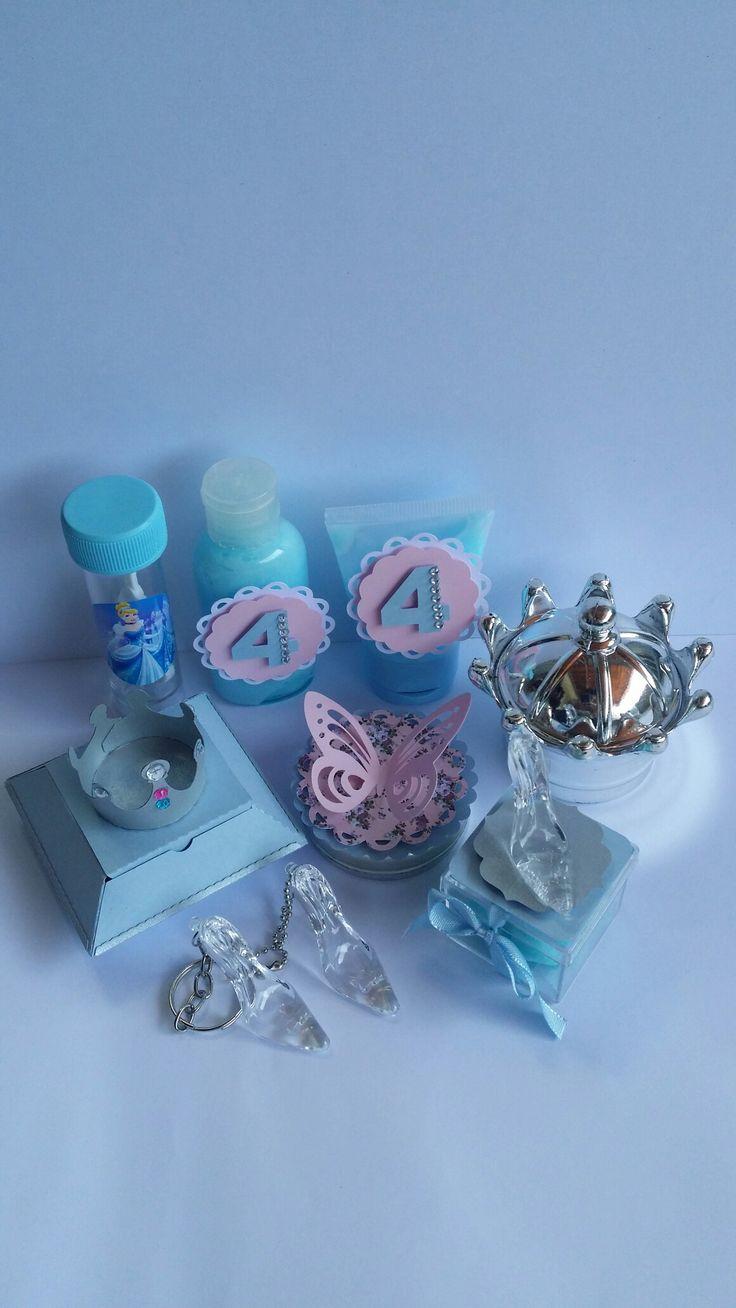 Lembranças da Lorena e 4 anos Festa Cinderela
