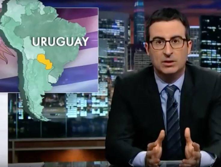 John Oliver Really Loves Making Fun of How Terrible Americans Are at Geography