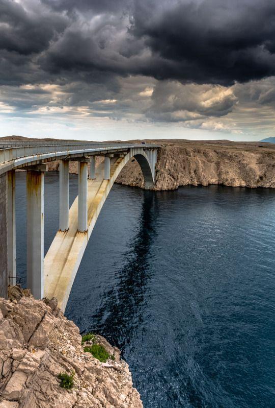 Paški Most, Pag Island, Croatia by EuropeTrotter