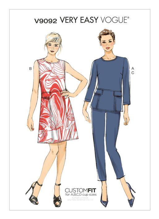 24 besten Vogue Patterns Bilder auf Pinterest   vogue Muster ...