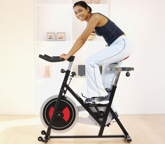 Intense Indoor Cycling Workout. The more you burn, the better you'll feel!- 1,000 calories burned in an hour with this cycling routine.